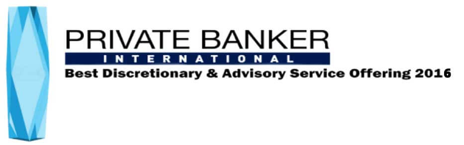 Best Discretionary & Advisory Service Offering - Private Banker International