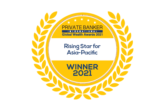 Rising Star for Asia-Pacific – Private Banker International